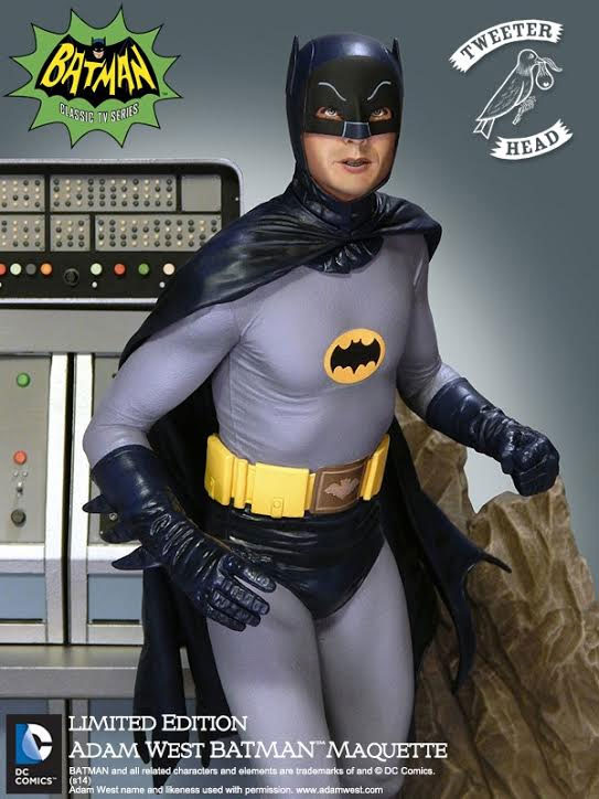 Batman 1966 To The Batmobile Adam West 1/6 Scale Maquette Diorama Statue