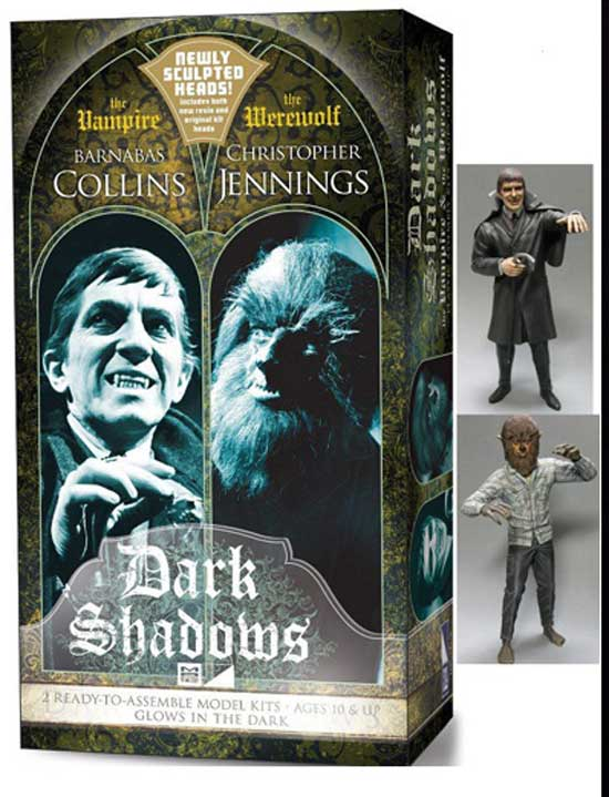 Dark Shadows Twin Pak MPC Model Kits OOP