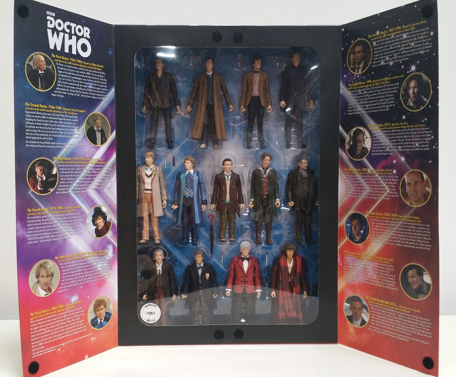 Doctor Who 13 Doctors Action Figure Box Set LIMITED EDITION