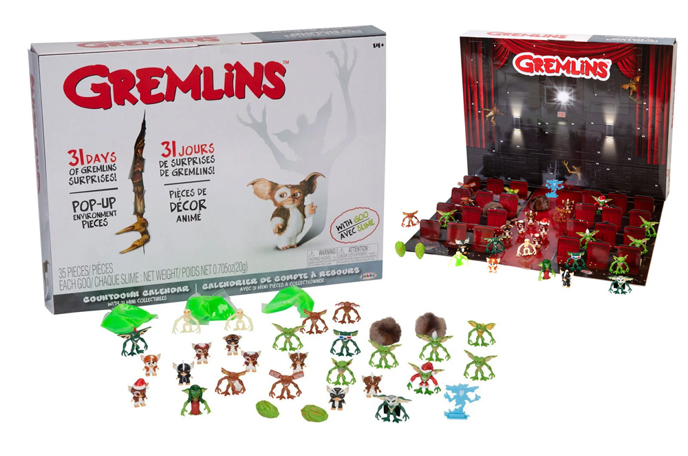 Gremlins Countdown Calendar with 31 Figures