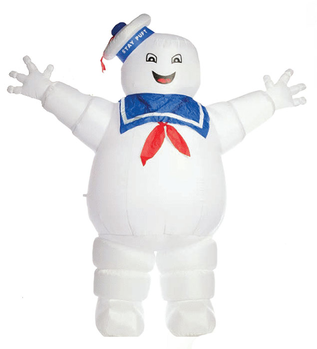 Ghostbusters Stay Puft Marshmallow Man 8 Ft. Tall Inflatable Display