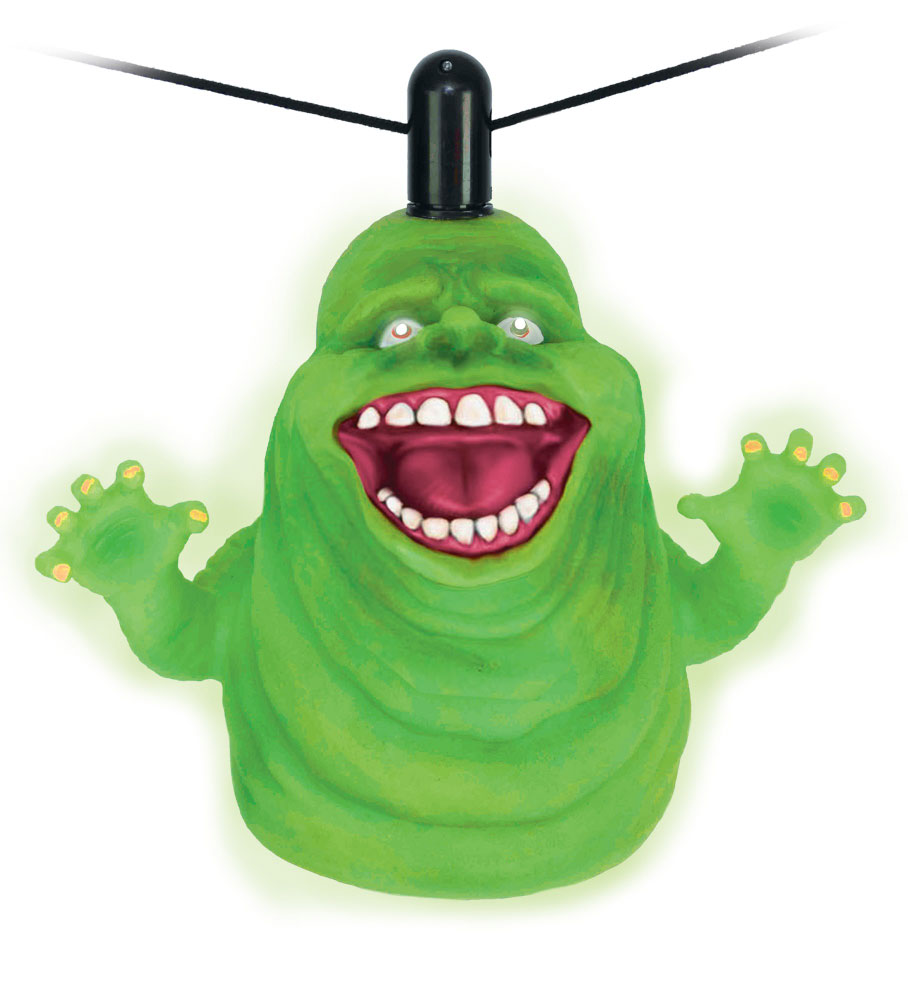 Ghostbusters Slimer 11 Inch Tall Floating Display