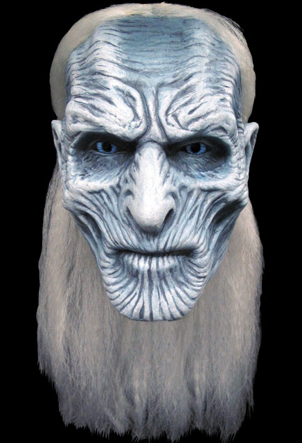 Game of Thrones White Walker Adult Latex Pullover Mask