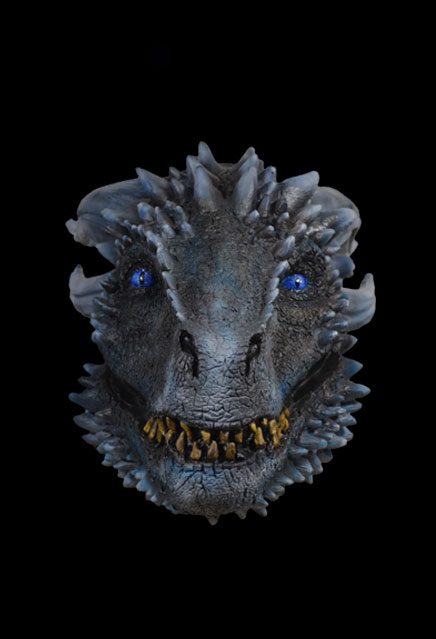 Game of Thrones White Walker Dragon Latex Mask