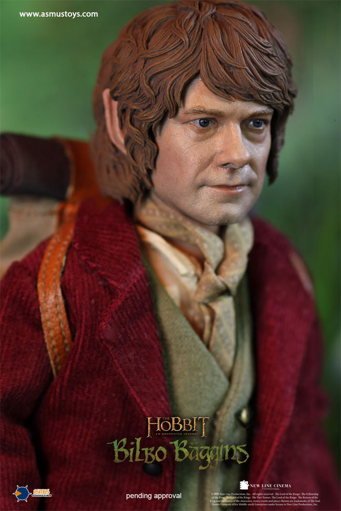 Hobbit Bilbo Baggins Figure by Asmus Lord of the Rings