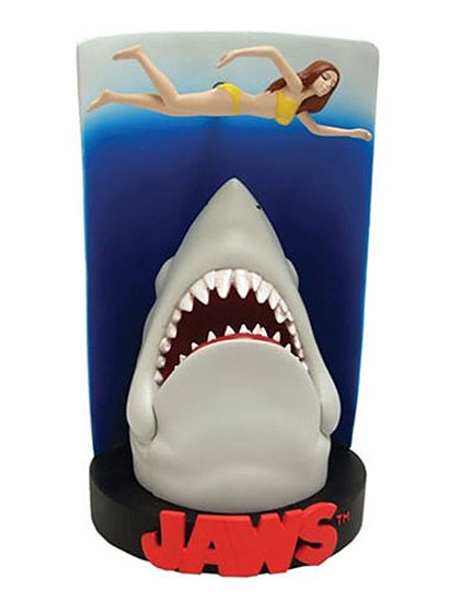 Jaws Movie Poster Premium Motion Statue