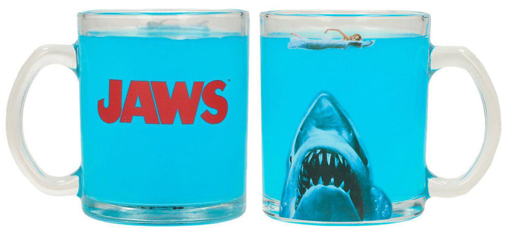 Jaws Movie Poster Transparent Mug