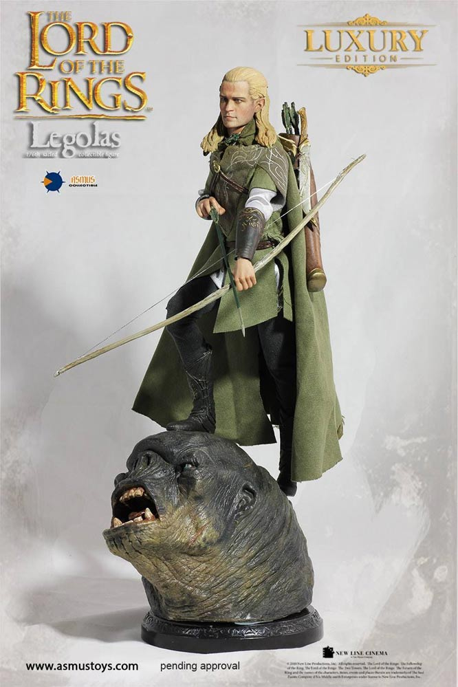 Lord of the Rings Legolas Luxury Edition 1/6 Scale Figure by Asmus