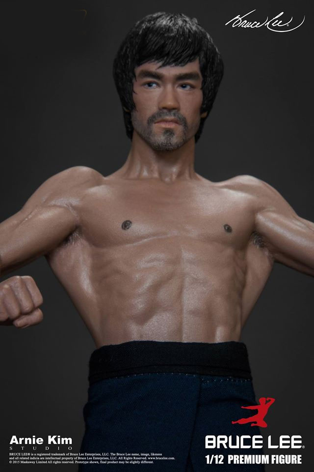 Bruce Lee 1/12 Scale Premium Action Figure Black Pants Version by Storm