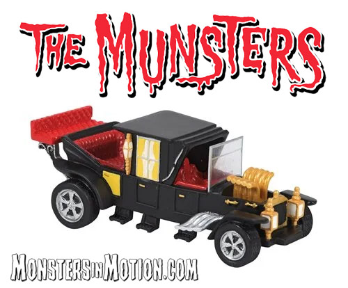 Munsters Village The Munster Koach Statue by Hot Properties