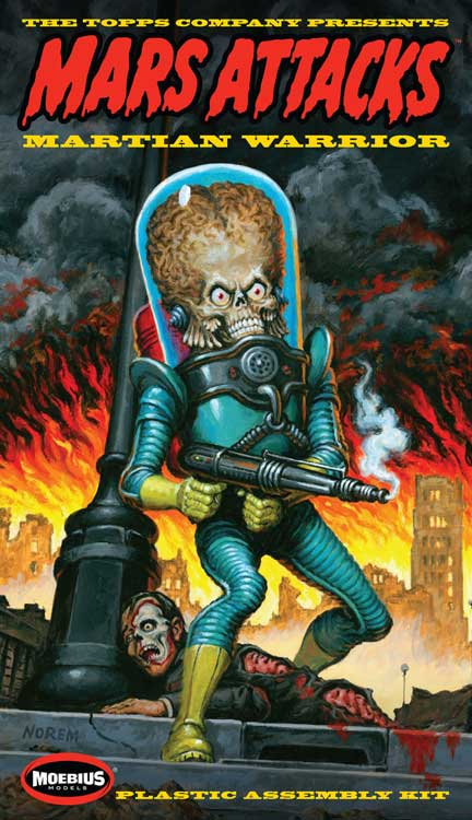 Mars Attacks Plastic Model Kit