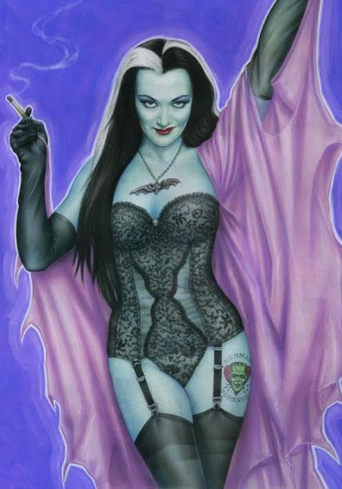Munsters Lily Munster '64 Playghoul of the Year Poster