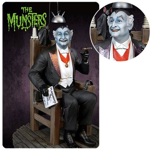 Munsters Grandpa Munster Deluxe Maquette