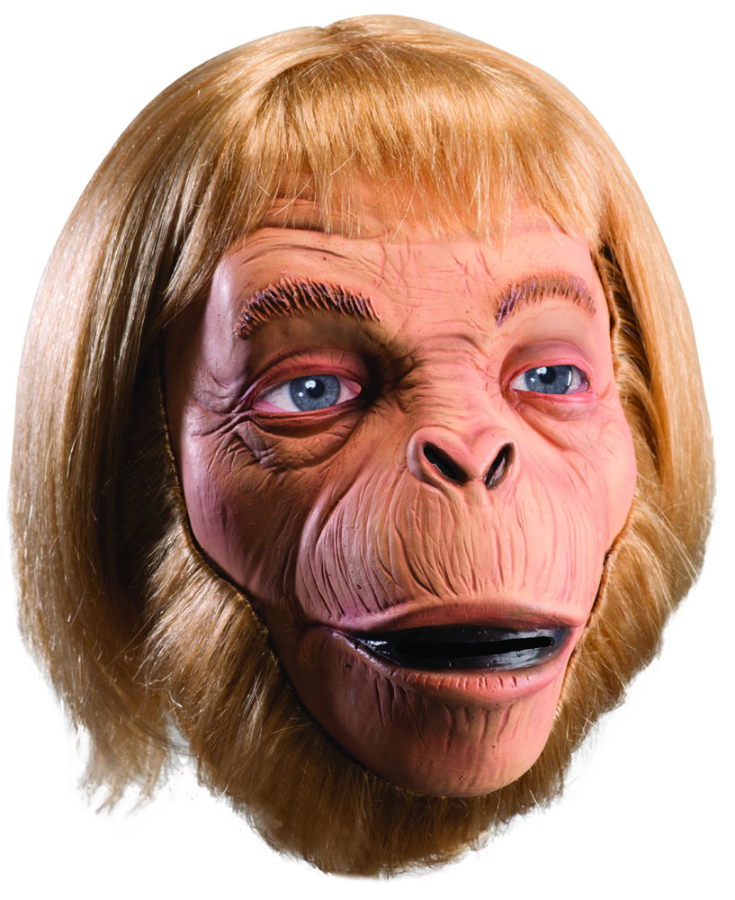 Planet of the Apes Dr. Zaius Deluxe Latex Adult Mask