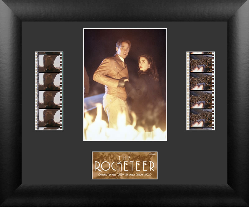 Rocketeer Double Film Cell Plaque #1 (Lit Version)