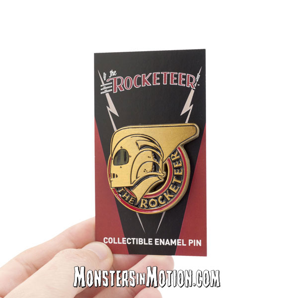 Rocketeer 1991 Rocketeer Badge Enamel Lapel Pin
