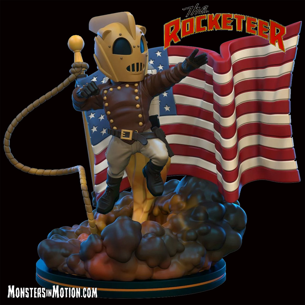 Rocketeer Q-Fig Elite Figure Disney