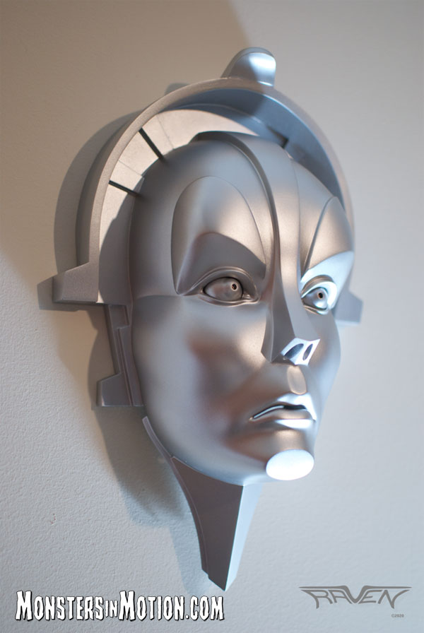 Metropolis Maria Full Size Face Wall Plaque Model Kit