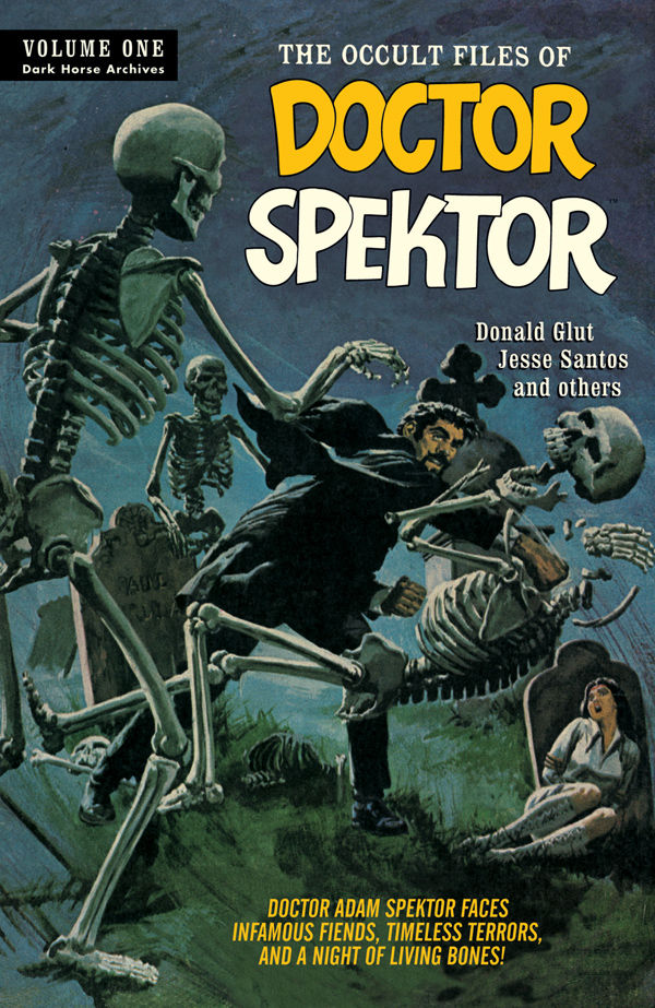 Doctor Spektor Archives Volume 1 Hardcover Book