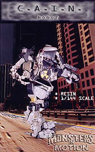 Cain Robot 1/12 Scale Resin Model Kit C.A.I.N.