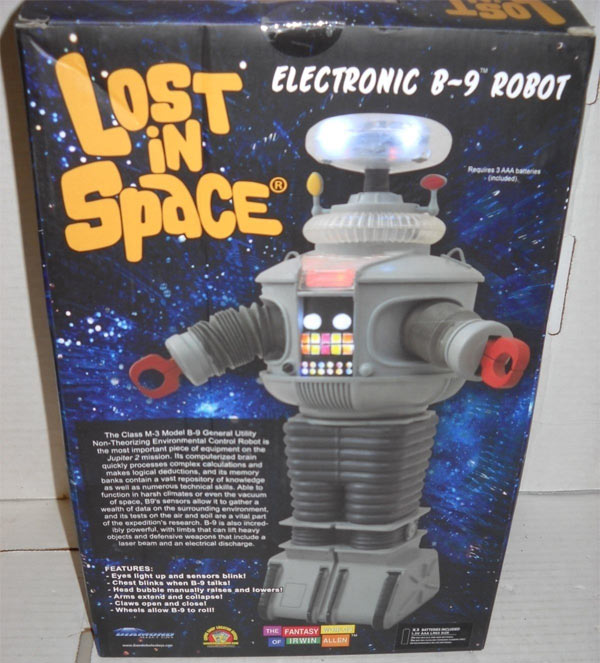 Lost In Space 1/6 Scale Electronic B-9 (YM-3) Robot Toy Replica