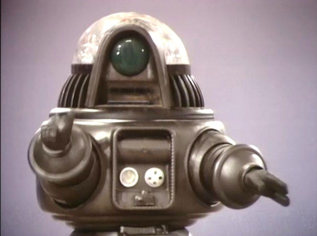 Phantom Empire / Project UFO / Space Academy Cyclops Robot Conversion Parts for Robby The Robot Model Kit