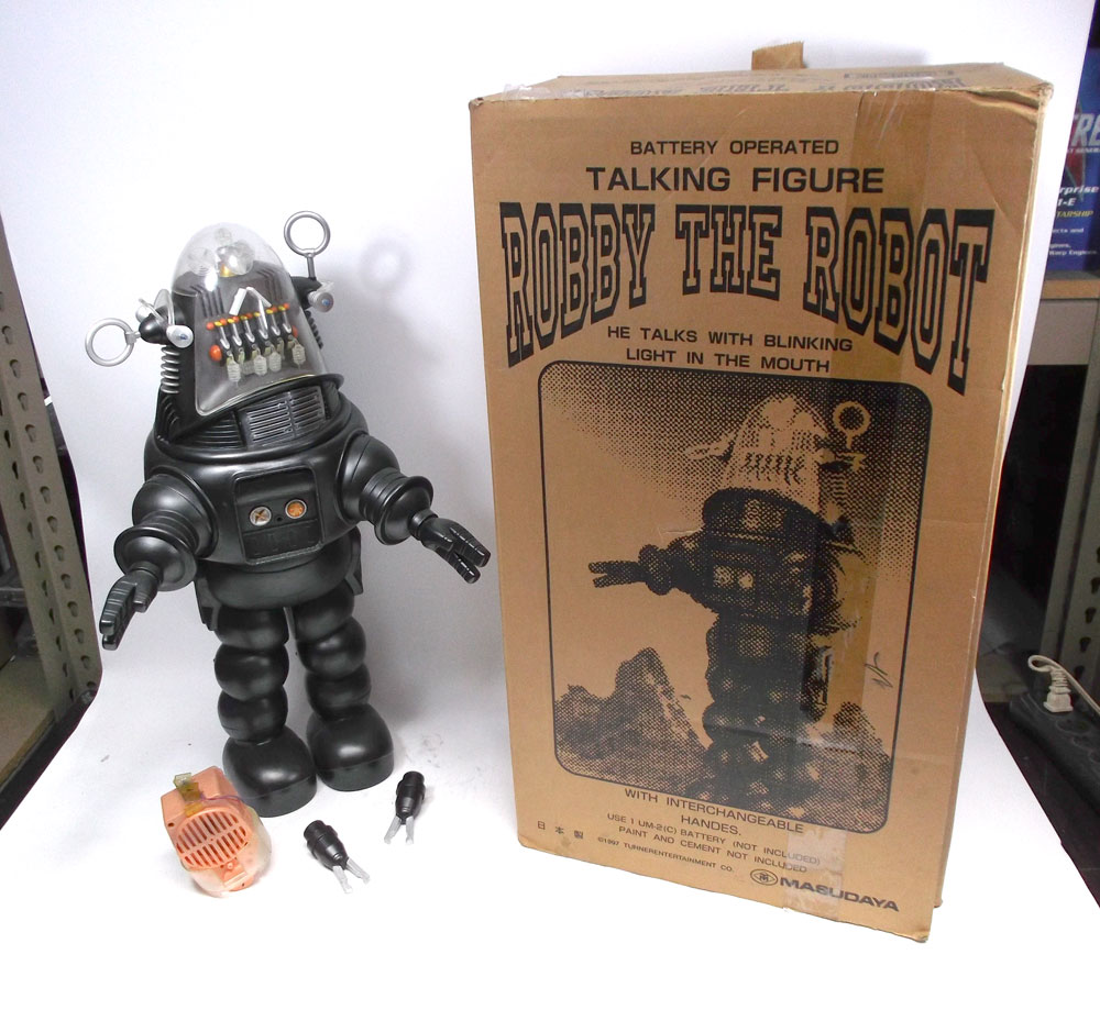 "Forbidden Planet Robby The Robot 24"" Tall Masudaya Finished Model"