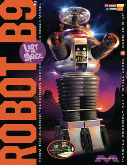 Lost In Space B-9 Robot 1:6 Scale Model Kit YM-3