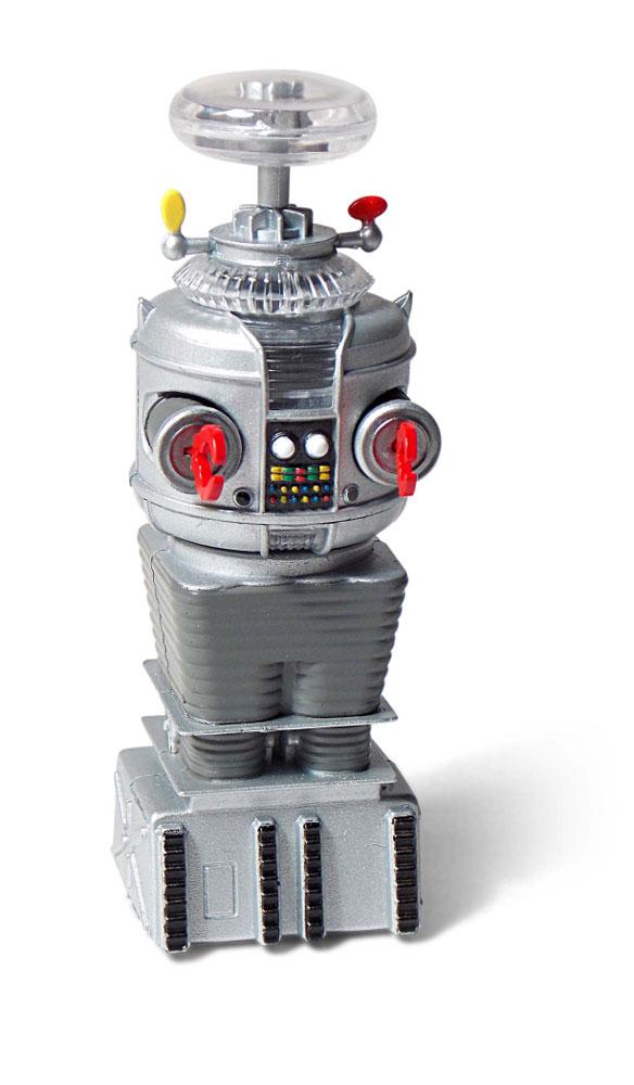 Lost In Space Ym 3 Robot Mini Display Model In Retro Tv