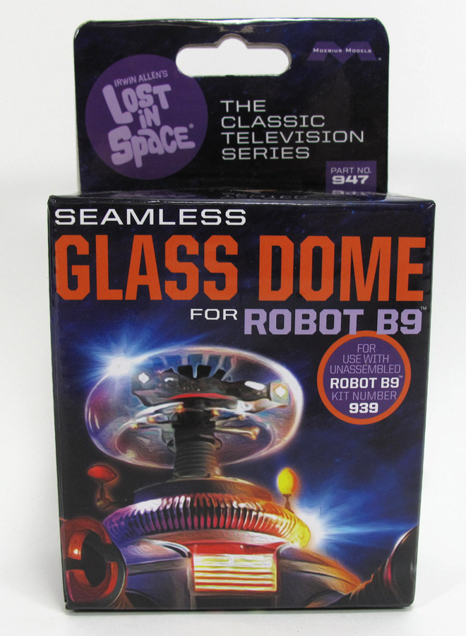 Lost In Space B-9 Robot 1:6 Scale Retrofit Glass Dome for Moebius Model Kit