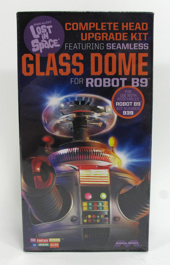 Lost In Space B-9 Robot 1:6 Scale Complete Glass Dome for Moebius Model Kit