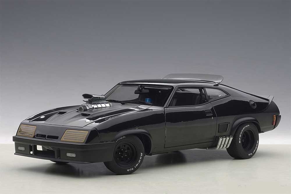 Mad Max Last Of The V8 Interceptors Ford Falcon XB 1/18 Scale Super Deluxe Diecast Replica by Autoart