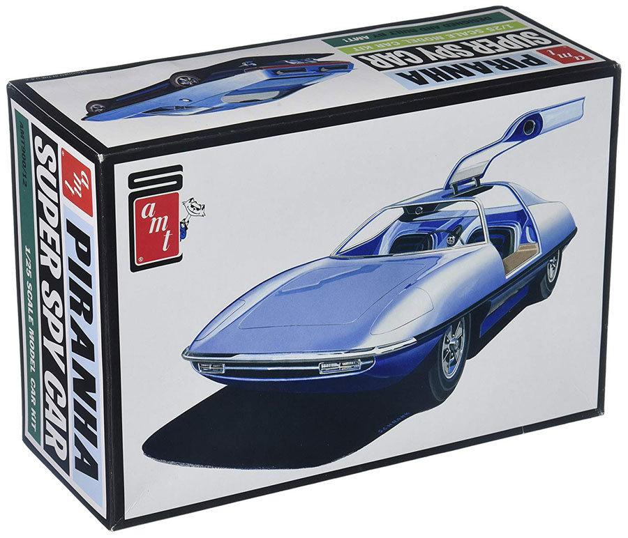 Piranha Spy Car 1/25 Scale Model Kit Man From U.N.C.L.E.