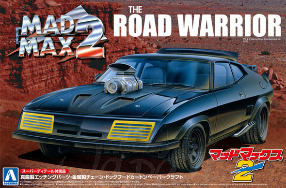 Mad Max 2 Road Warrior Interceptor Car Super Detail 1/24 Scale Model Kit
