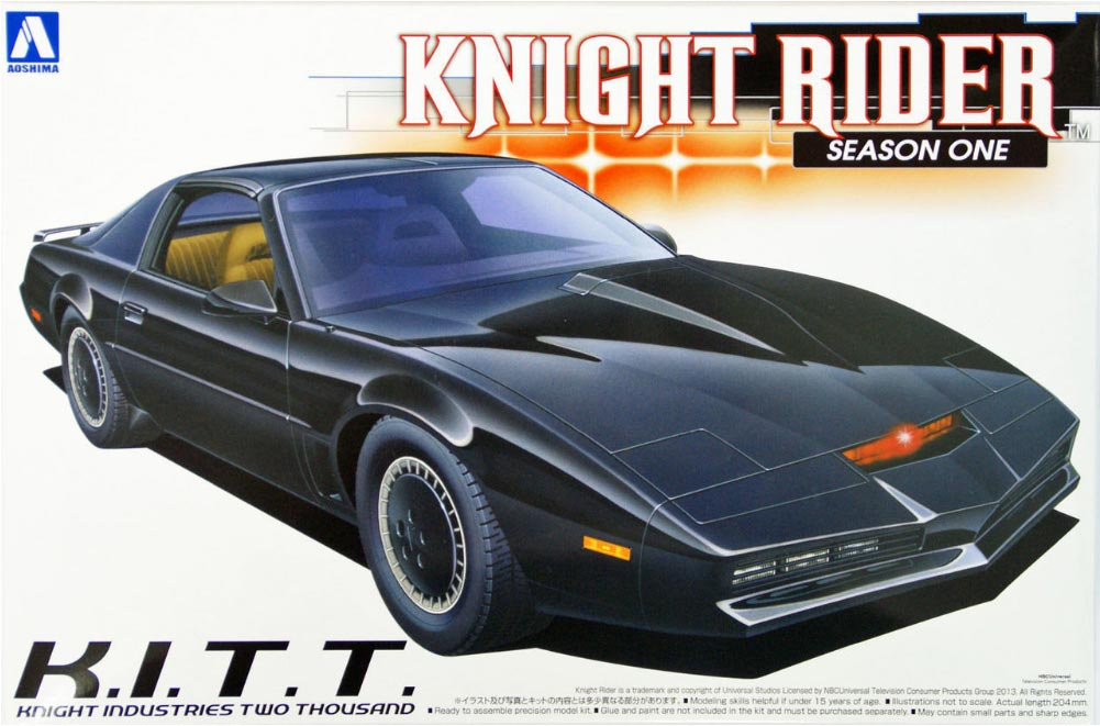 knight rider season 4 kitt super pursuit mode 1 24 scale. Black Bedroom Furniture Sets. Home Design Ideas