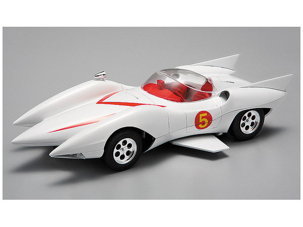 Speed Racer Mach 5 Full Version 7 Features Model Kit by Aoshima - Click Image to Close