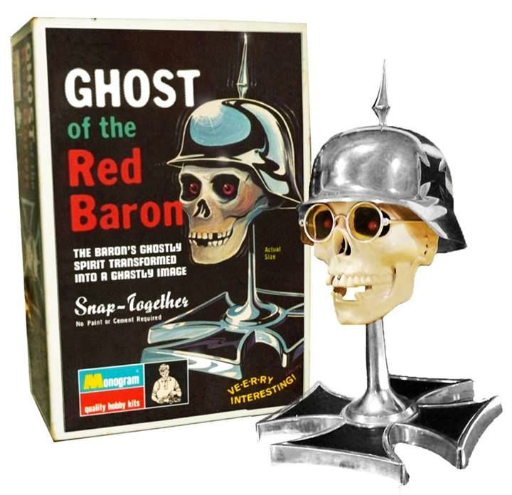 Ghost Of The Red Baron Tom Daniels Monogram Re-issue by Atlantis