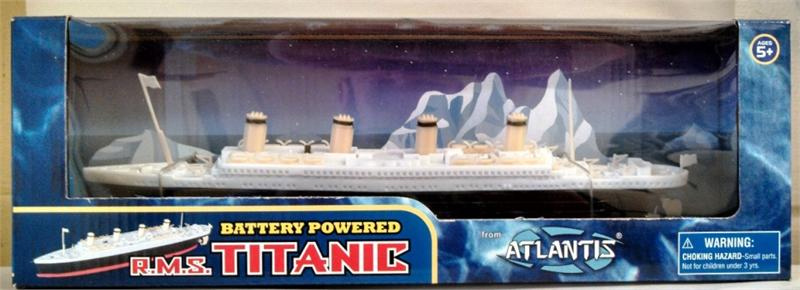 "Titanic 12"" Battery Powered Toy Replica RMS Titanic"