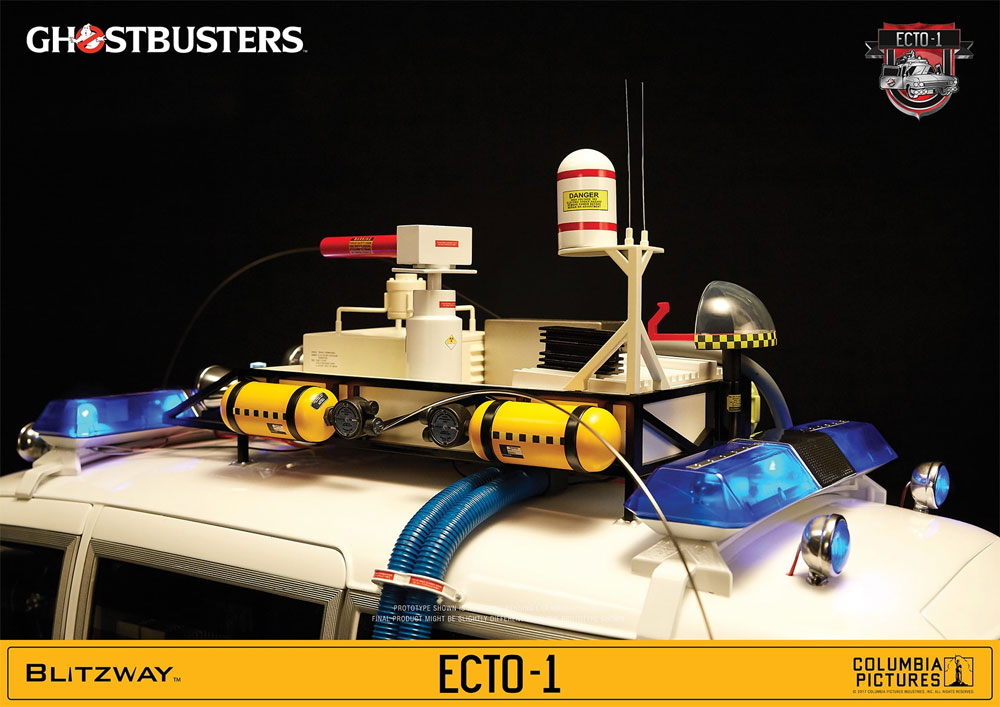 Ghostbusters 1984 ECTO-1 1/6 Scale Vehicle by Blitzway