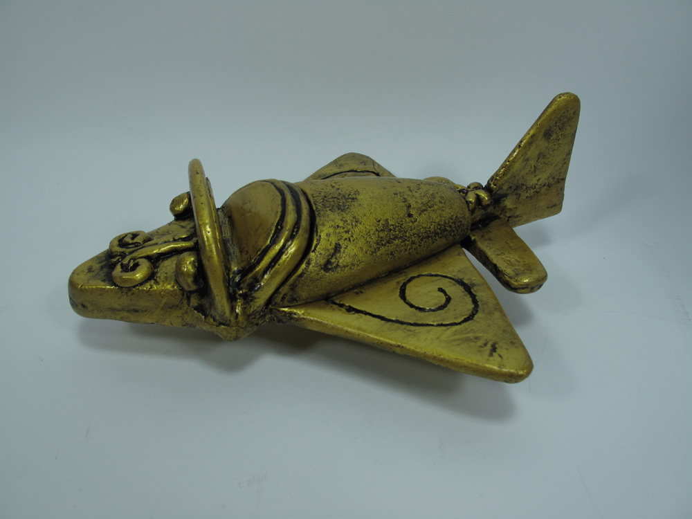 Ancient Aliens Quimbaya Tolima Airplane Artifact Replica