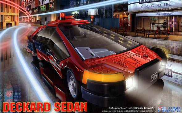 Blade Runner Deckard Sedan Car 1/24 Scale Model Kit by Fijima