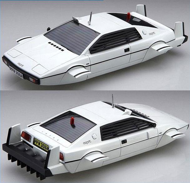 James Bond 007 Spy Who d Me Lotus Esprit S1 Submarine Car 1/24 ...