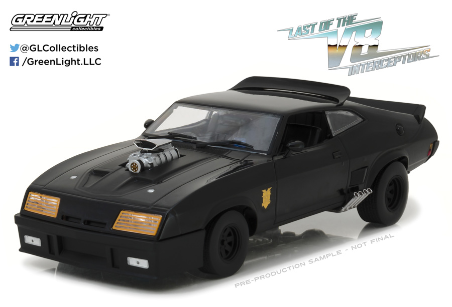 Last Of The V8 Interceptors Ford Falcon XB 1/18 Scale Diecast Replica by Greenlight