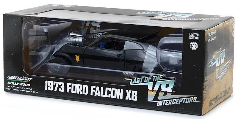 Last Of The V8 Interceptors Ford Falcon XB 1/18 Scale Diecast Replica By  Greenlight