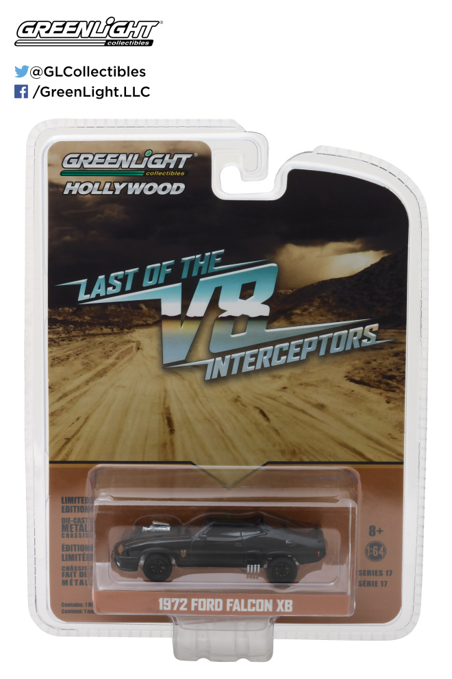 Last Of The V8 Interceptors Ford Falcon XB 1/64 Scale Diecast Replica by Greenlight
