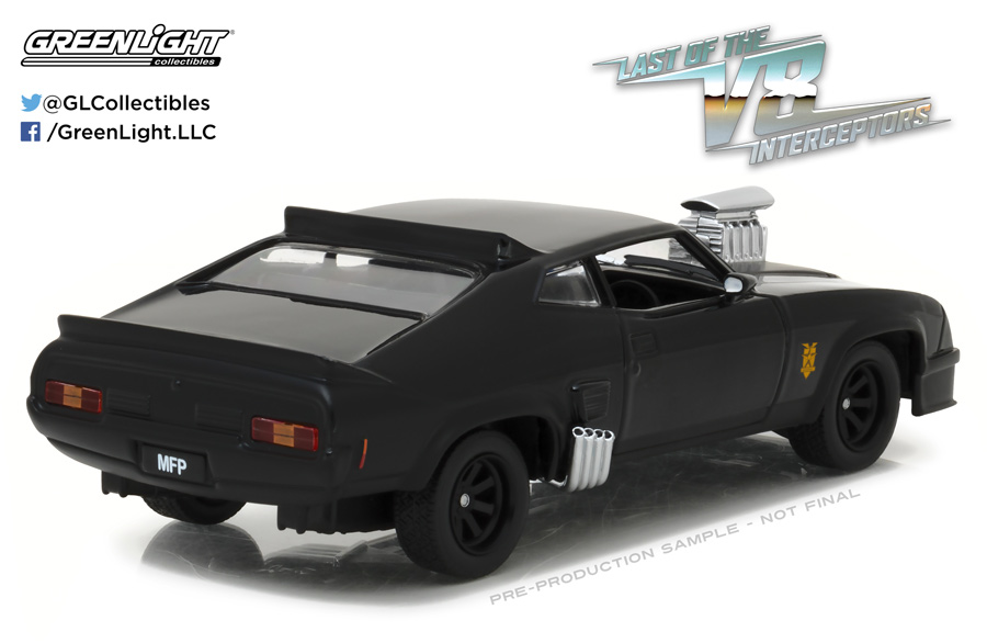Last Of The V8 Interceptors Ford Falcon XB 1/24 Scale Diecast Replica by Greenlight