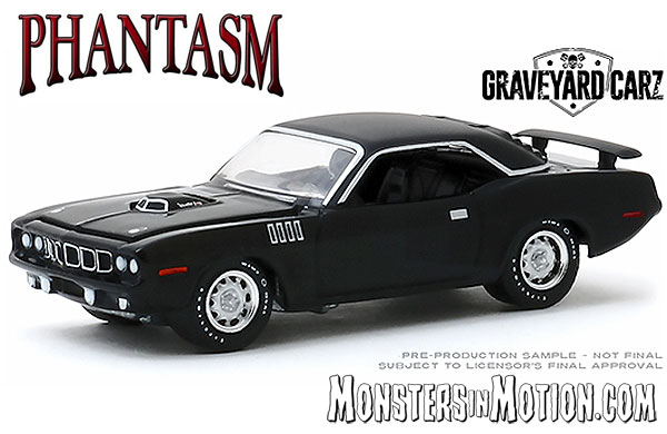 Phantasm 1971 Plymouth Cuda 1/64 Scale Replica