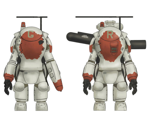 Maschinen Krieger Fireball SG & SG Prowler 1/35 Scale Model Kit by Hasegawa