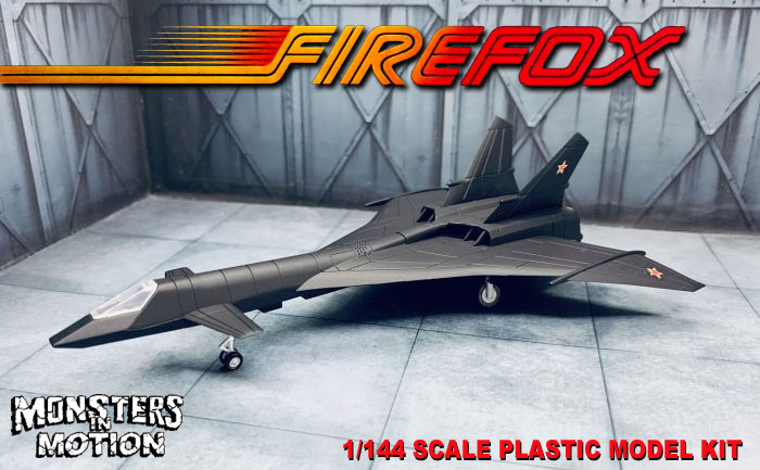 Firefox MIG-31 1/144 Scale Plastic Model Kit from Japan