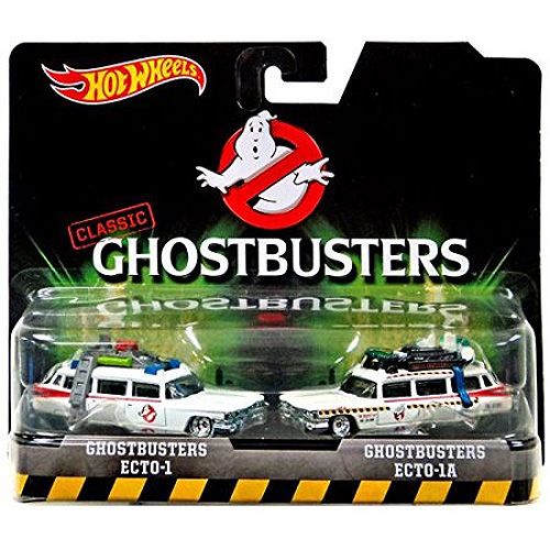 Ghostbusters Classic Ecto-1 Hotwheels 1/64 Scale 2-Pack